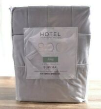 Hotel Signature 100% Cotton 800 Thread Count King Size 6 Piece Sheet Set Grey