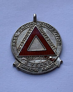 Silver Fob Safe Driving Competition 5 years drivers award 7.88 grams