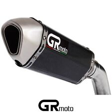 """USED Carbon Exhaust Slip On 51mm 2"""" GRmoto"""