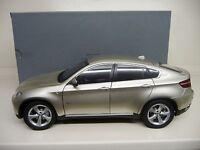 1:18 KYOSHO BMW X6 5,0i 2009 mineral silver Dealer Edition NEU NEW