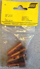 5 Tip Adaptador M6 47 mm PSF 315R Soldadura ESAB 368 145 001 Soldador Original