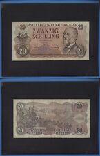 AUSTRIA 20 SCHILLING PICK 136 ANNO 1956 095