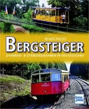 Fachbuch Bergsteiger, Zahnrad- & Standseilbahnen Deutschlands, STATT 14,95 EUR