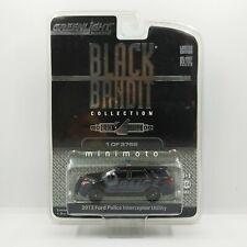 GREENLIGHT BLACK BANDIT 2013 FORD POLICE INTERCEPTOR UTILITY