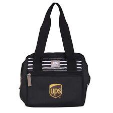 New listing United Parcel Service Ups Igloo Black Leftover Lunch Dinner 9 Can Cooler Bag