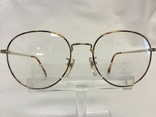 Wimbledon Eyeglasses Sunglasses Round Tortoise Gold Metal Retro NEW