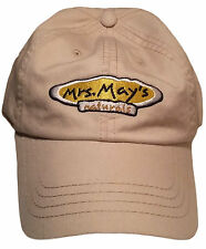 NEW Mrs. May's Naturals Hat Mens One Size - Beige W513