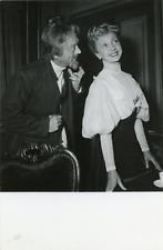 Acteurs Madeleine Renaud et Jean Servais, ca.1955, vintage silver print vintage