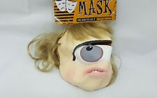 New Adults One Eyed Alien Mask - Adult Halloween Costume Fancy Dress Outfit