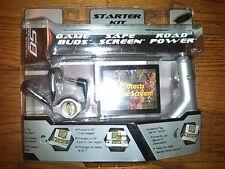 OSS MISP Nintendo DS Starter Kit Intec NEW Screen Protector Ear Buds Car Charger