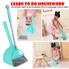 3PCS Kid's Housekeeping Cleaning Tools Small Mop Small Broom Small Dustpan A84