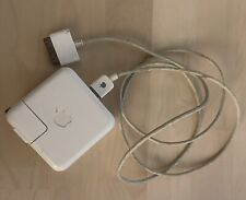 Official Apple Classic Firewire Wall Charger AC Adapter With Cable Untested
