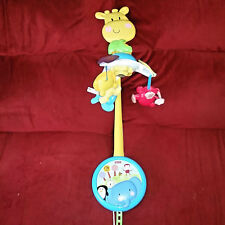 Fisher Price Discover & Grow Play 2-1 Take-Along Windup Musical Mobile 2012