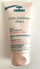 Nuxe Visage Gentle Exfoliating Gel Face with Rose Petals 2.6 oz