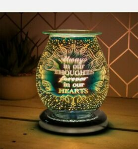 L&P Gifts Leonardo Desire Touch Sensitive Aroma Lamp 3D Always In Our Thoughts
