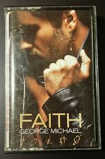 George Michael Faith Cassette Tape 1987 POP