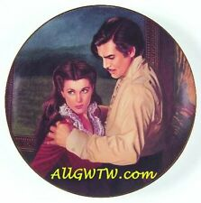 Passions Of Scarlett O'Hara DANGEROUS ATTRACTIONS Plate with Box/COA ~Free Ship!