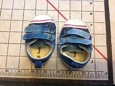 Koala Kids Size 1 Denim Sneakers Baby Shoes Jean Infant Booties Baseball Shoes