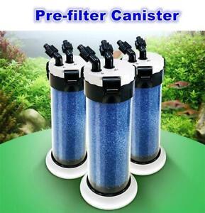 External Aquarium Filter Sponge Fish Tank Canister Water Pump Pond Filtration