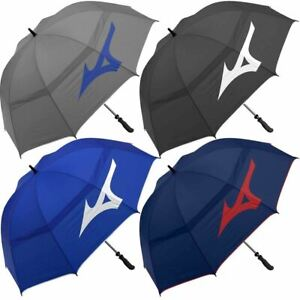 "Mizuno Golf Mens 68"" Tour Twin Double Canopy Vented Golf Umbrella"