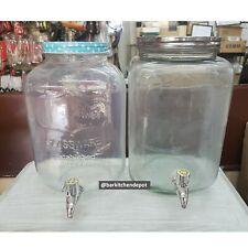 5L/6L Royal Dine Vintage Mason Jar Glass Juice Dispenser