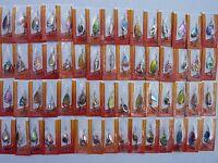 Lot 60 CUILLERS de peche TRUITE perche sandre brochet leurres carnassier spinner