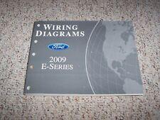 2009 Ford E-Series Electrical Wiring Diagram Manual XL XLT 5.4L 6.8L V8 V10