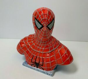 Marvel Spider-Man Official Movie Merchandise NECA Bust Cookie Jar Original Box