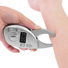 New Digital LCD Male & Female Body Fat Skin Fold Caliper*Free Tape Measure*
