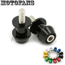 8MM CNC Motorcycle Swingarm Sliders Spools Fit For Honda Suzuki all Year