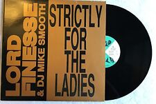 "Lord Finesse & DJ Mike Smooth ‎– Strictly For The Ladies / Vinyl 12"" US"