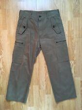 Comme Des Garcons Hommes Plus 4 Pocket Cargo Pants Size S 32 Waist Mens Used