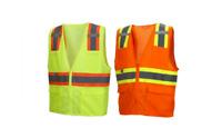 Womens Mens Reflective Hi Vis Vest Safety Vests Glow In Dark Suspenders One Size