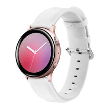Leather Strap Band Wrist for Samsung Galaxy Watch Active 2 40/44MM/Active 1/40mm