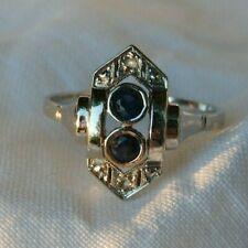 Schöner Ring, Weissgold, Art Deco
