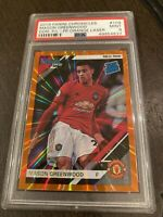 Mason Greenwood Chronicles Orange Laser Rated Rookie PSA 9 LOW POP!