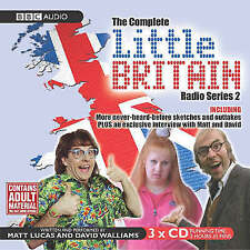 LITTLE BRITAIN COMPLETE RADIO SERIES 2 (TWO)  BBC AUDIO 3 CD BOXSET NEW/SEALED