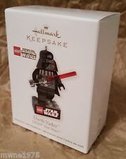 2011 Hallmark Ornament STAR WARS LEGO DARTH VADER MIB