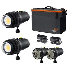 Light & Motion Double Dive 2X 15K Dive Light Kit