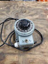 Powerstat Variable Autotransformer 3pn116b 0 140 Volt 10 Amp 120 V Please Read