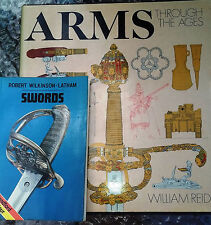 ARMS through the Ages by Reid 1976 + SWORDS in COLOUR by Wilkinson-Latham 1977
