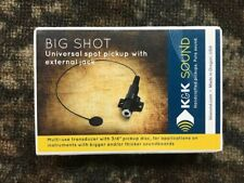 K&K Big Shot - Universal Spot Pickup with external Jack