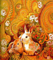1000 Piece Deluxe Jigsaw Puzzle Rabbit Twelve Chinese Horoscope Animals YC1230