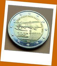 2 Euro Gedenkmünze Malta 2015 - 100 Jahre Erstflug von Malta - Neu - RAR