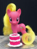 My Little Pony FIM G4 brushable Cherry Berry w/ Wedding Cake Pony Wedding