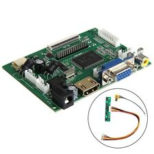 HDMI Controladora Board VGA 2AV PI LCD AT070TN90/92/94 LVDS 50 PIN TTL Monitor