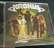 KROKUS To You All CD Reissue 1977 Hard Rock rare AC/DC Paganini Airbourne Accept
