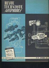 (C3A)REVUE TECHNIQUE AUTOMOBILE PEUGEOT 403 Sept et Diesel / EVINRUDE 75 ch