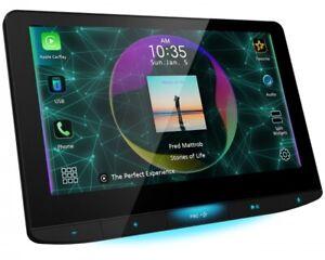 """JVC KW-Z1000W 10.1"""" HD Car Monitor Wireless Apple Carplay Digital Media Receiver"""
