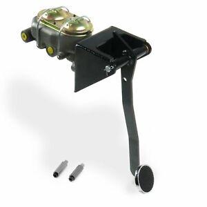 Universal FW Manual Brake Pedal kit Adj Disc/Disc3in Chr Pad parts suspension